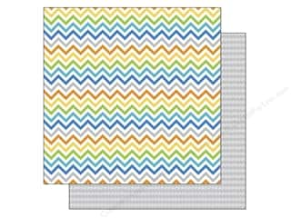 Doodlebug Paper 12 x 12 in. Shades Of Chevron (25 piece)