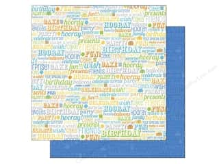 Doodlebug Paper 12x12 Hip Hip Hooray Birthday Boy (25 piece)