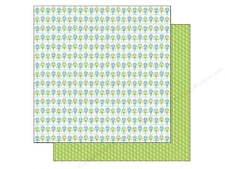 Doodlebug Paper 12x12 Hip Hip Hooray Bitty Bots (25 piece)