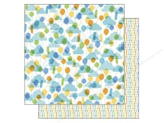 Doodlebug Paper 12x12 Hip Hip Hooray Up Up & Away (25 piece)
