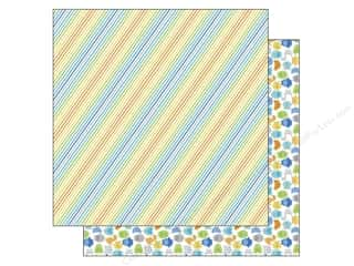 Doodlebug Paper 12 x 12 in. Striking Stripes (25 piece)