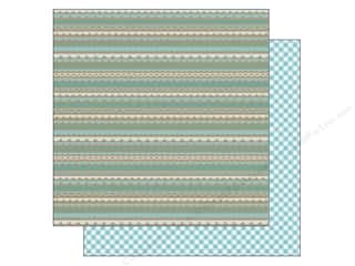 Doodlebug Paper 12 x 12 in. Swimming Pool Scallop (25 piece)