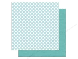 Doodlebug Paper 12 x 12 in. Swimming Pool Dot (25 piece)
