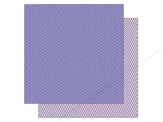 Doodlebug inches: Doodlebug Paper 12 x 12 in. Kraft In Color Lilac Dot (25 pieces)