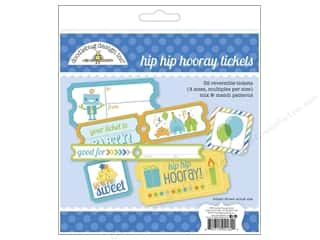 Crafting Kits: Doodlebug Embellishment Hip Hip Hooray Craft Kit Tickets