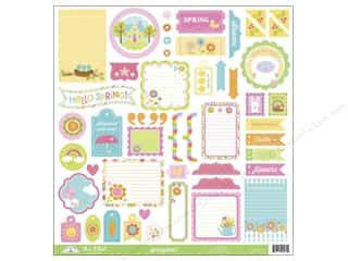 Spring Stickers: Doodlebug Sticker Springtime This & That