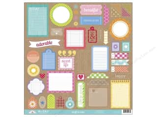 Doodlebug Stickers: Doodlebug Stickers Kraft In Color This & That