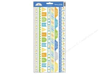 Doodlebug Birthdays: Doodlebug Stickers Hip Hip Hooray Cardstock Fancy Frills