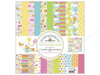 Crafting Kits Easter: Doodlebug Paper 12 x 12 in. Springtime Assorted Pack