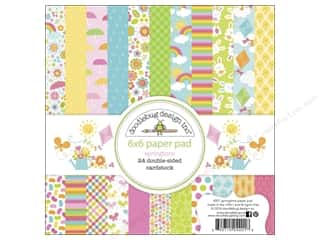 "Insects Hot: Doodlebug Paper Pad Springtime 6""x 6"""