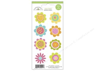 Doodlebug: Doodlebug Stickers Springtime Mini Icon Blossoms