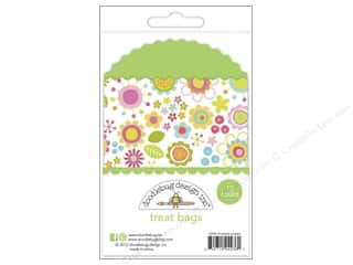 Craft Embellishments Easter: Doodlebug Embellishment Springtime Treat Bags Limeade Posies