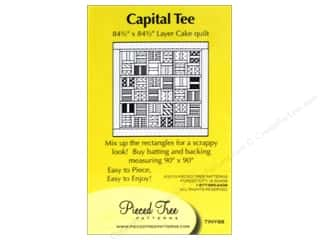 "Pieced Tree Patterns 10"": Pieced Tree Tiny Capital Tee Pattern"