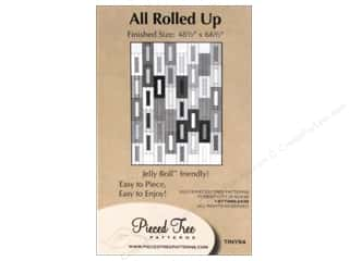 Quiltsillustrated.com Jelly Roll Patterns: Pieced Tree Tiny All Rolled Up Pattern