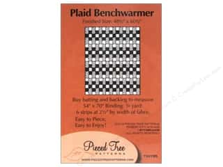 "Pieced Tree Patterns 10"": Pieced Tree Tiny Plaid Benchwarmer Pattern"