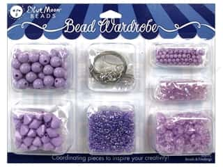 seed beads: Blue Moon Beads Bead Wardrobe Kit Lilac