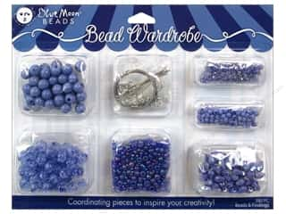 Wire Blue: Blue Moon Beads Bead Wardrobe Kit Lavender