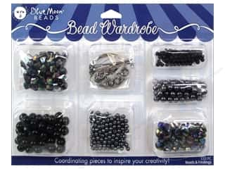 Weekly Specials Darice ArtLover Kits: Blue Moon Beads Bead Wardrobe Kit Black