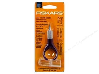 Cutters Wood Cutter: Fiskars Fingertip Swivel Detail Craft Knife