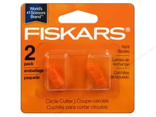 Paper Trimmers / Paper Cutters Fiskars Paper Trimmer Blade Refill: Fiskars Circle Cutter Replacement Blades 2 pc.