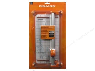 Scrapbooking & Paper Crafts: Fiskars Portable Rotary Paper Trimmer 12 in.