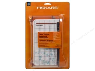 Paper Trimmers / Paper Cutters: Fiskars Paper Trimmer 9 in. Card Making Bypass