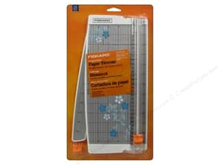Weekly Specials Fiskars Punches: Fiskars Portable Scrapbooking Paper Trimmer 12 in.