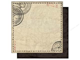 Authentique 12 x 12 in. Paper Abroad Voyage (25 piece)