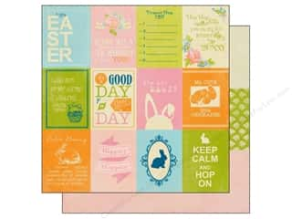 Authentique Easter: Authentique 12 x 12 in. Paper Promise Collection Enhancements (25 pieces)