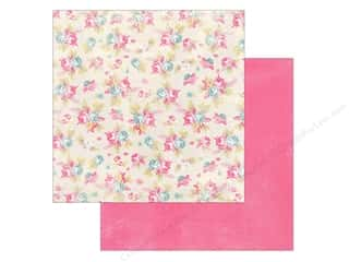 Spring Printed Cardstock: Authentique 12 x 12 in. Paper Flourish Cheer (25 piece)