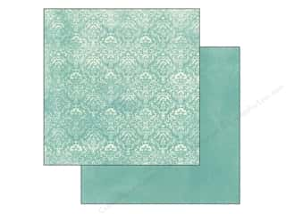 Spring Printed Cardstock: Authentique 12 x 12 in. Paper Flourish Flutter (25 piece)