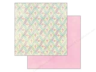 Spring Printed Cardstock: Authentique 12 x 12 in. Paper Flourish Bloom (25 piece)