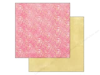 Spring Paper: Authentique 12 x 12 in. Paper Flourish Petal (25 piece)
