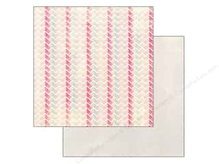 Spring Paper: Authentique 12 x 12 in. Paper Flourish Interlock (25 piece)