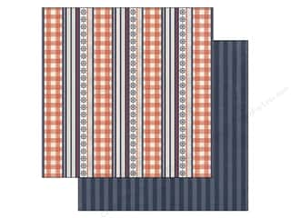 Plaid inches: Authentique 12 x 12 in. Paper Anchored Collection Cruise (25 pieces)