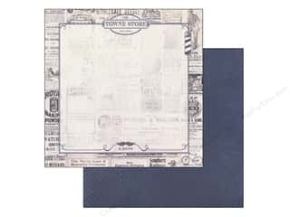 Clearance Blumenthal Favorite Findings: Authentique 12 x 12 in. Paper Suave Dapper (25 piece)