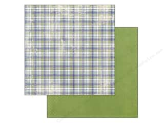 Plaid inches: Authentique 12 x 12 in. Paper Suave Collection Noble (25 pieces)