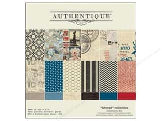 Projects & Kits Vacations: Authentique Collection Kit 12 x 12 in. Abroad