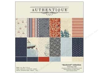 Projects & Kits Vacations: Authentique Collection Kit 12 x 12 in. Anchored