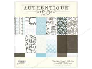 Authentique Collection Kit 12 x 12 in. Classique Elegant