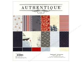 Authentique Paper Pad 12 x 12 in. Anchored