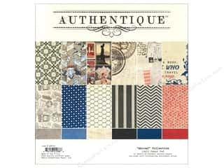 Authentique Paper Pad 12 x 12 in. Abroad