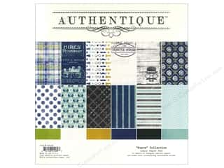 Fathers: Authentique Paper Pad 12 x 12 in. Suave