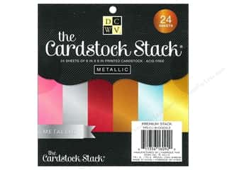 Cardstock  6x6: DieCuts Cardstock Stack 6 x 6 in. Metallic