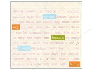 Spring Stickers: Authentique Stickers 3 x 4 in. Promise Diction (12 set)