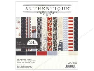 Authentique 6 x 6 in. Paper Bundle Anchored 24 pc.