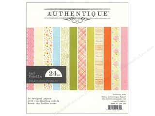 Authentique 6 x 6 in. Paper Bundle Promise 24 pc.