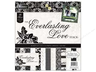 Die Cuts With A View 12 x 12 in. Cardstock Mat Stack Everlasting Love