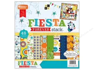 DieCuts with a View 12 x 12: Die Cuts With A View 12 x 12 in. Cardstock Mat Stack Fiesta Forever