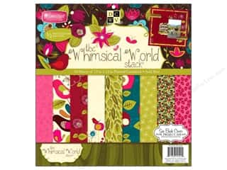 Die Cuts 12 x 12 in. Cardstock Mat Stack Whimsical World